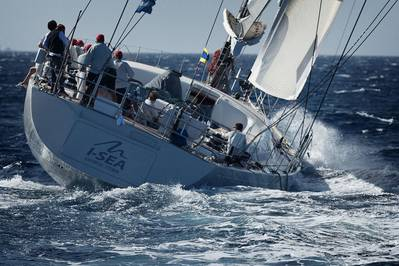 I Sea at the Southern Wind Shipyard Trophy in 2012